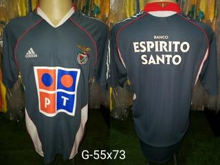 Camisa Benfica adidas Espirito Santo Reserva Cinza 2005