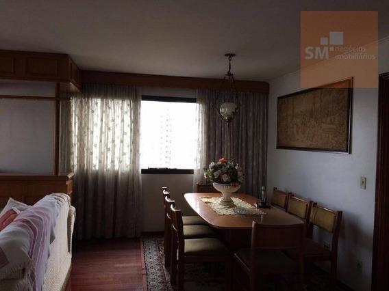 Apartamento Com 4 Dormitórios À Venda, 150 M² Por R$ 657.200 - Centro - São Caetano Do Sul/sp - Ap1781