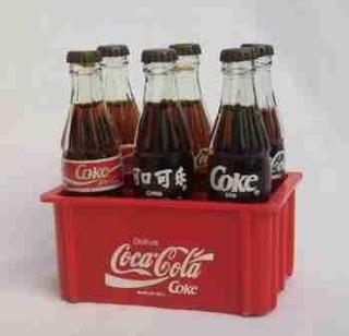 Coca-cola Canasta Pequeña Italia 90 Con 6 Botellas