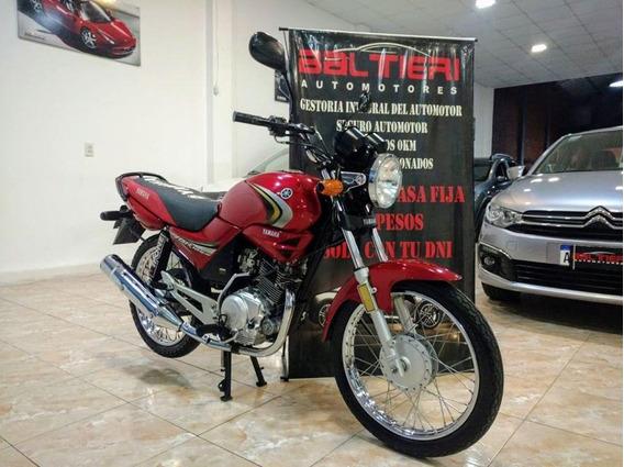 Yamaha Ybr 125 E 2013