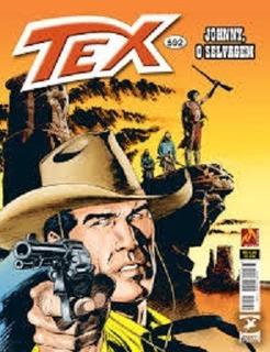 Gibi Tex 592 Johnny O Selvagem - Retorno De Proteus