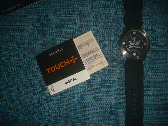 Relógio Masculino Original Touch Mondaine