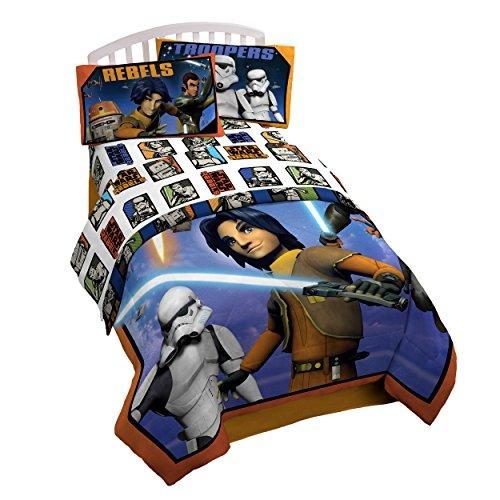 Juego De Sábanas Disney Star Wars Para Niño Set X 3 Piezas