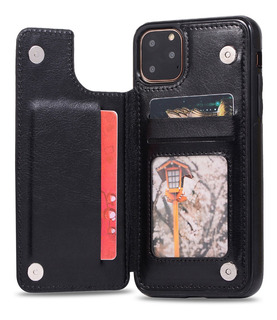 Capa Carteira iPhone 11 Pro Max 7 8 Plus X Xs Xr 10 Bumper