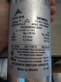 Capacitor Eletrolítico 127/220v Siemens