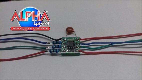 Mods Chips Rgb Ths7314 N64 Pack Com 3 Montado