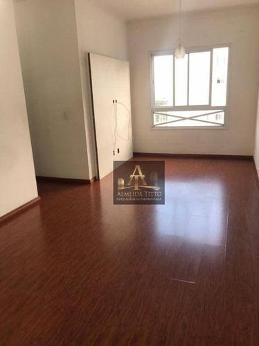 Lindo Apartamento Com Três Dormitórios, Com Móveis Planejados E Andar Alto - Valor R$410.000,00 - Ap3214