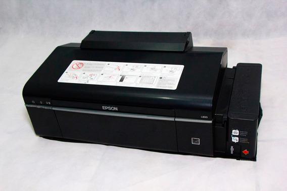 Impressora Epson L800 Com Tanque De Tinta Produto Mostruário