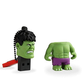 Pendrive Vingadores Hulk 8gb Multilaser - Pd082