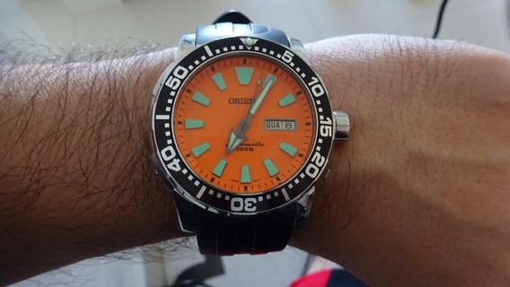 Orient Scuba Diver Automático 469ss040 O1 Com Pulseira Extra