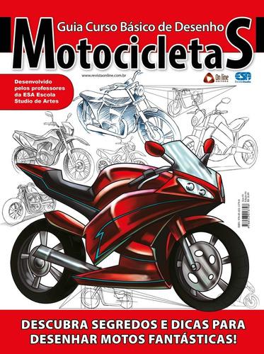Livro Guia Curso Básico De Desenho: Motocicletas