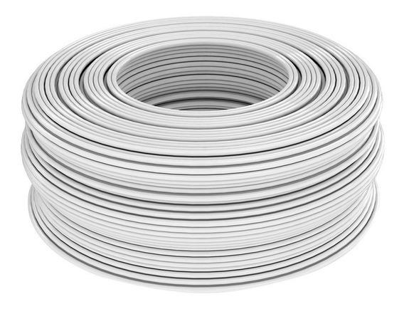 Cable Eléctrico Duplex Blanco 100 Metros Calibre 18 Ad-6403