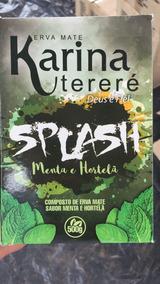Erva Mate Karina Splash Menta E Hortelã 500g