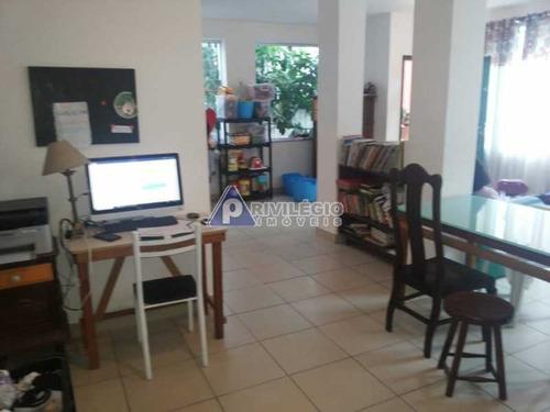 Casa De Vila Triplex Em Botafogo - 3688