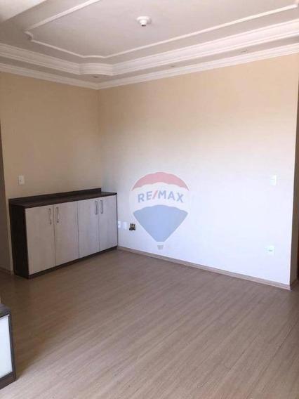 Apartamento Com 2 Dormitórios, 58 M² - Venda Por R$ 220.000,00 Ou Aluguel Por R$ 980,00/mês - Jardim Marajoara - Nova Odessa/sp - Ap0277