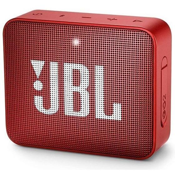 Speaker Jbl Go 2 Bluetooth/auxiliar Bateria 730 Mah Lacrado