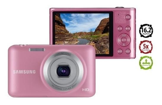 Camera Samsung Es95 Rosa+bolsa Para Transporte Imperdível