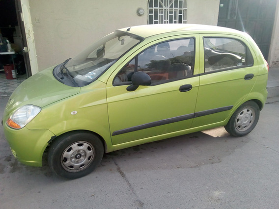 Chevrolet, Matiz 2011 Color Verde