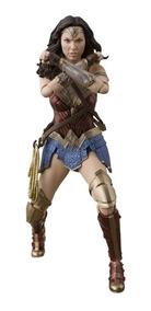 Justice League Wonder Woman Sh Figuarts Action Figure Bandai