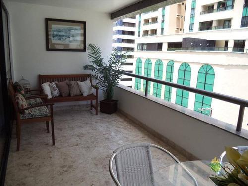 Apartamento Com 4 Dormitórios À Venda, 173 M² Por R$ 690.000,00 - Pituba - Salvador/ba - Ap0891