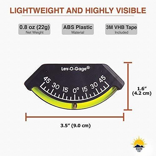 Sun Company Inclinometro Medidor Inclinacion Lev Gage