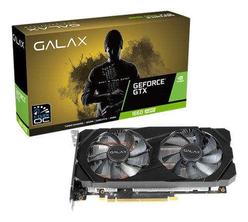 Imagen 1 de 4 de Tarjeta De Video 6gb Ddr6 Geforce Gtx 1660 Super Galax