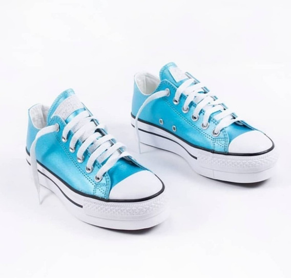 Zapatillas Converse Plataforma Ultima Disponible !