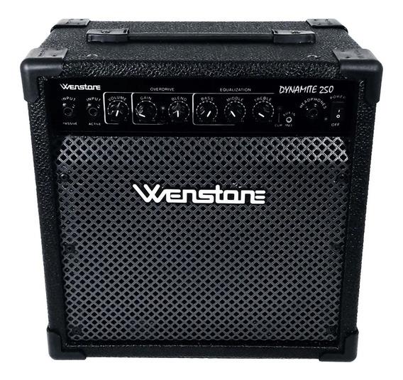 Amplificador De Bajo Electrico Wenstone Dynamite 25w