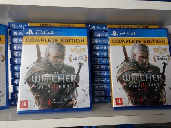 The Witcher 3 Complete Mídia Física Usado Ps4 Português Br
