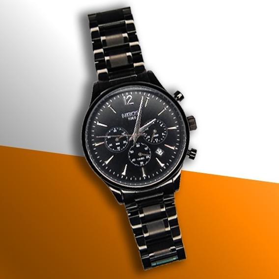 Relógio Masculino Nibosi 100% Funcional Original + Brinde