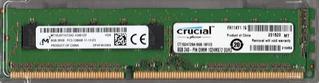 Memoria Ram De Servidor 8gb Pc3-12800e Ecc Micron