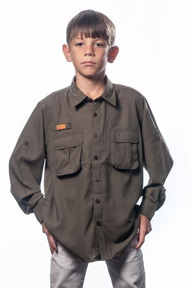 Camisas Ke Niños Manga Larga Ref. Jl11-27