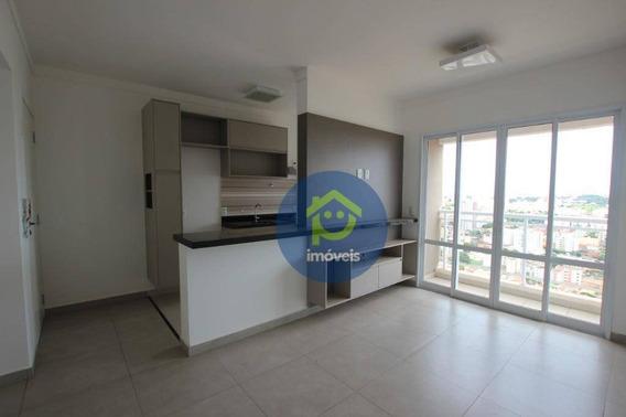 Apartamento À Venda/locação No Bairro Bom Jardim, Spazio Blu Com 1 Dormitório, 48 M² Por R$ 315.000/r$ 1400/mês - São José Do Rio Preto/sp - Ap7271