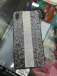 Forro Con Cristales Para Samsung A10