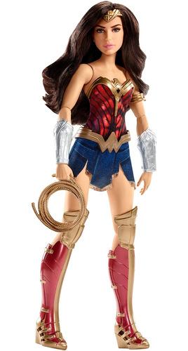 Imagen 1 de 6 de Muñeca Lista Para La Batalla Mattel Dc Wonder Woman
