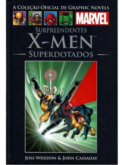 X-men Superdotados Graphic Novels Marvel 36 Salvat Nova