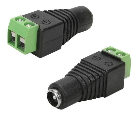 Adaptador Conector Plug P4 Fêmea Com Borne P/ Fixação De Fio