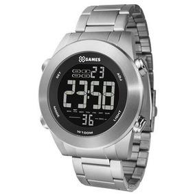 Relógio X-games Masculino Digital Prata - Xmssd001 Pxsx