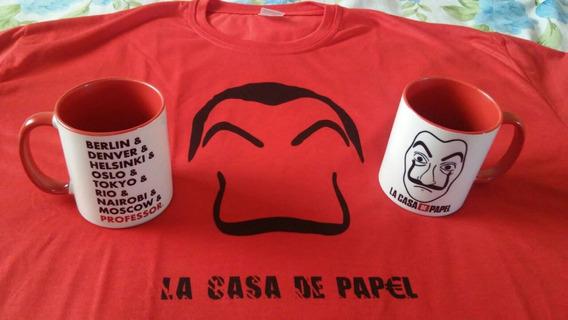 Kit Caneca E Camisa Personalizada (kit Color)