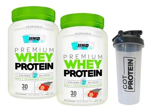 Proteina Star Nutrition X 2 Kg + Shaker De Regalo! Zona Sur