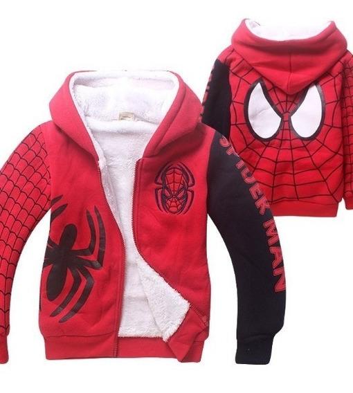 Blusa Jaqueta Moleton Casaco Infantil Menino Homem Aranha