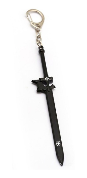Llavero Acero Sword Art Online Sao Espada Kirito Elucidator
