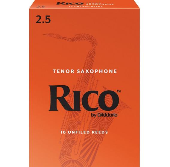Rico By Daddario Rka1025 Caña 2,5 Para Saxo Tenor Pack X 10