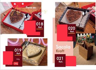 40 Caixas Chocolate De Coração 200 G Dia Dos Namorados