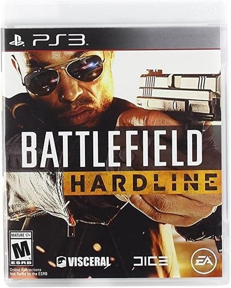 Game Play3 - Battlefield Hardline - Semi-novo Jogo Ps3