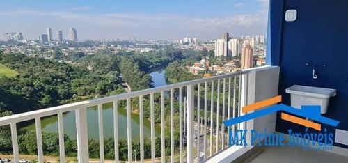 Imagem 1 de 12 de Apartamento 70m² Acqua Park - Green Valley Alphaville - 2124