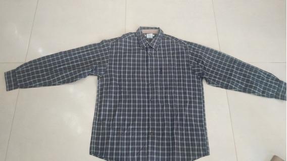 Camisa Columbia Original - Importada - Talle L - Azul