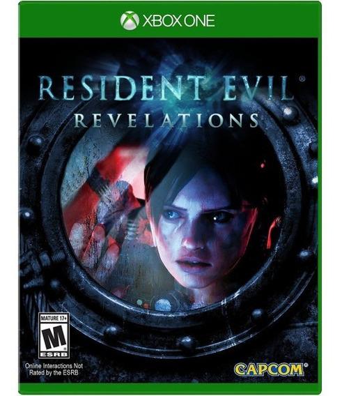 Resident Evil Revelations Xbox One Mídia Digital + 1 Jogo