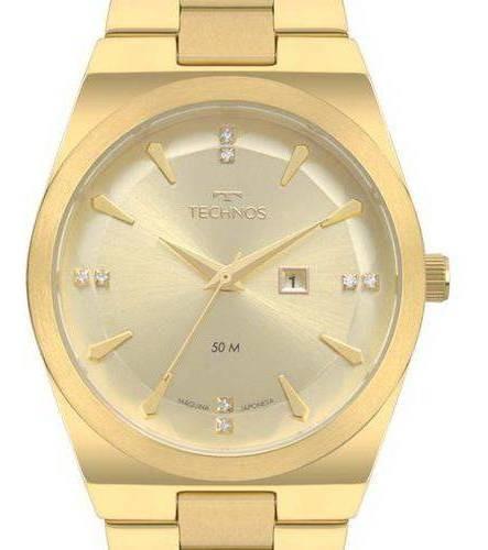 Relógio Technos Trend Feminino 2015cdb 4d Dourado