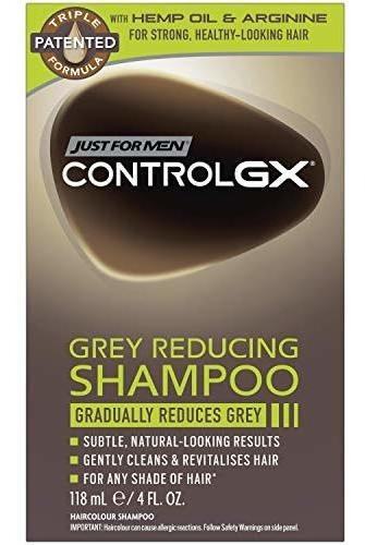 Just For Men Control Gx Shampoo Reductor Gris Nueva Version